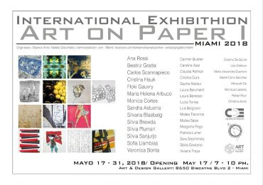 ''art on paper'' Miami